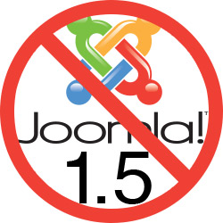 Joomal 1.5 forced update to Joomla 2.5